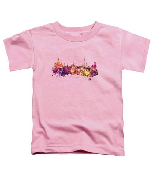 Moscow Toddler T-Shirt by Justyna JBJart