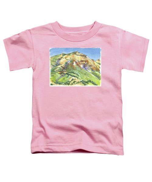 Mount Diablo From Curry Valley Ridge Toddler T-Shirt