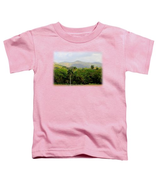 Mountains And Palms Toddler T-Shirt
