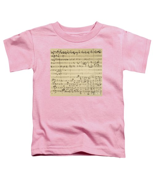 Mozart: Requiem Excerpt Toddler T-Shirt