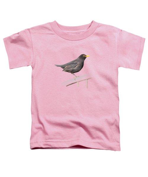 Ms. Blackbird Is Brown Toddler T-Shirt