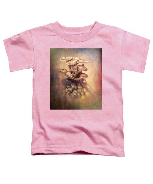 Mushrooms Gone Wild Toddler T-Shirt