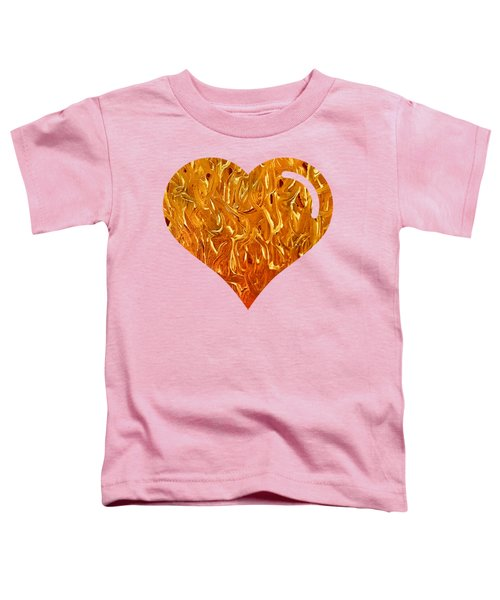 My Heart Is On Fire Toddler T-Shirt