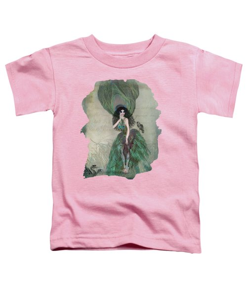 Mysterieuse Toddler T-Shirt by Terry Fleckney