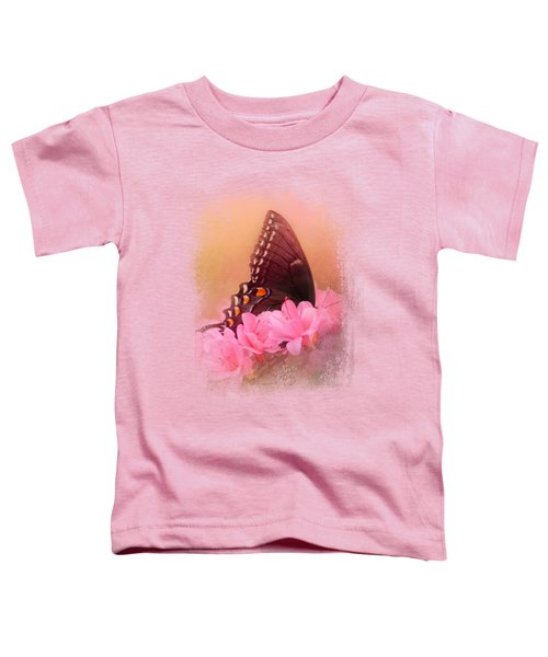 Napping In The Azaleas Toddler T-Shirt by Jai Johnson