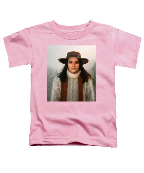 Toddler T-Shirt featuring the photograph Nature Harmony Self Portrait  by Colette V Hera Guggenheim