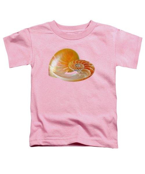 Nautilus Golden Glow Toddler T-Shirt