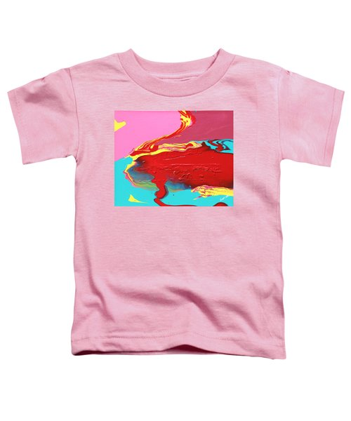 Neon Tide Toddler T-Shirt