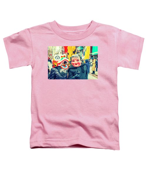 New York Chinatown Toddler T-Shirt