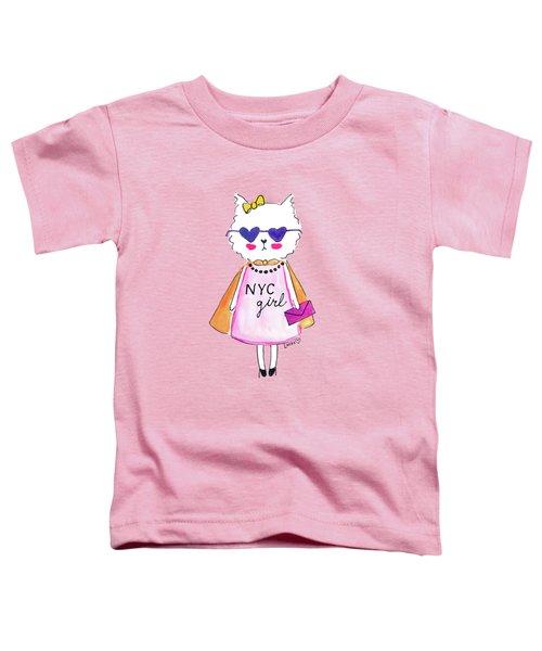 New York City Girl Toddler T-Shirt