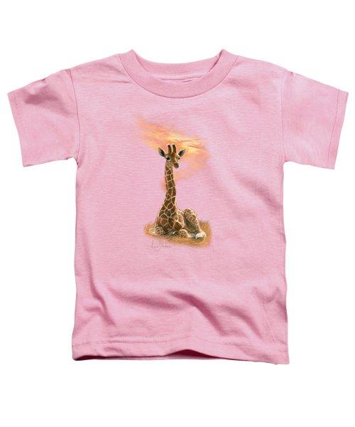 Newborn Giraffe Toddler T-Shirt