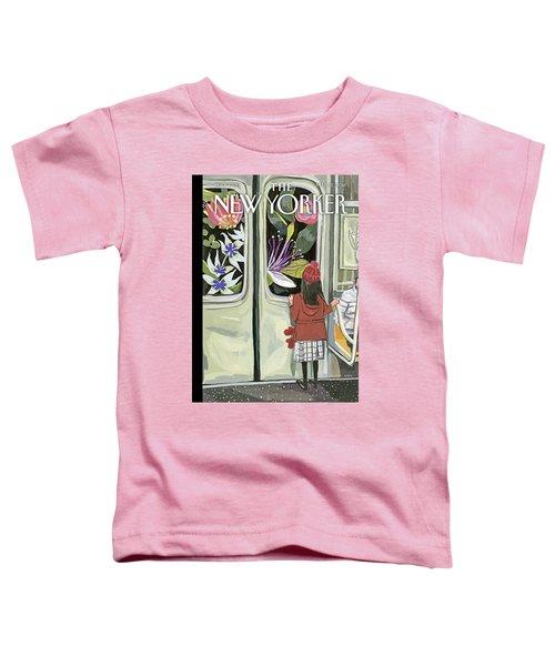 Next Stop Spring Toddler T-Shirt