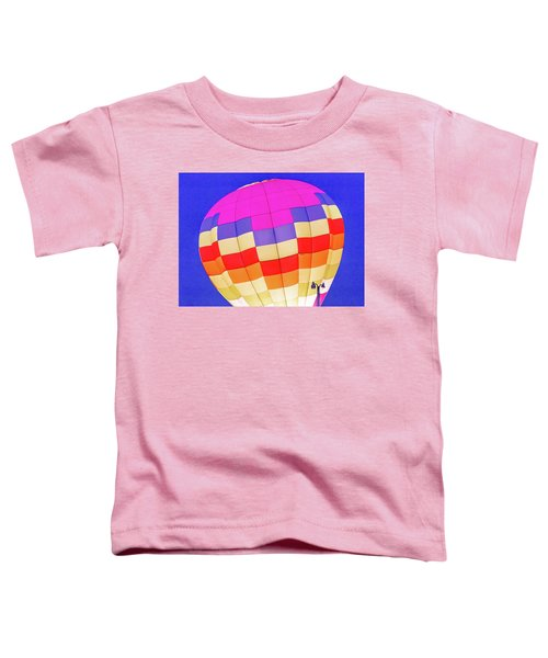 Night Glow At The Hot Air Balloon Festival Toddler T-Shirt