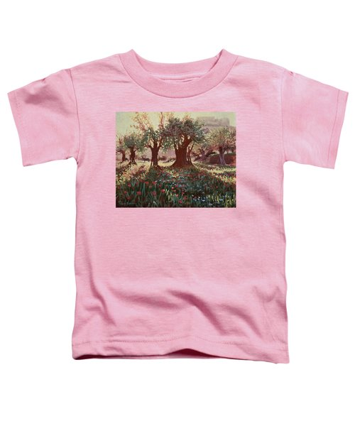 Nimrods Castle, Northern Galilee, Israel Toddler T-Shirt