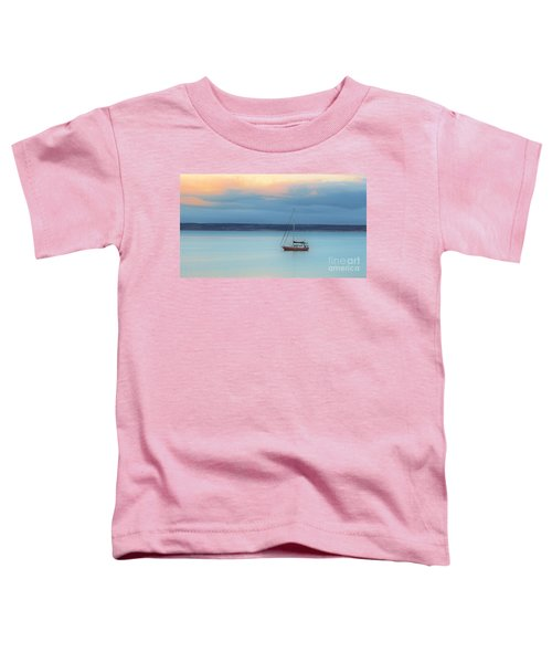 Toddler T-Shirt featuring the photograph Off Sailing by Stephen Mitchell