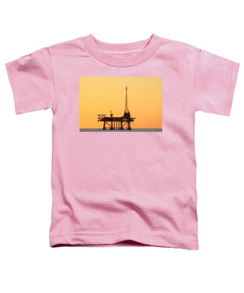 Offshore Oil And Gas Platform  Toddler T-Shirt