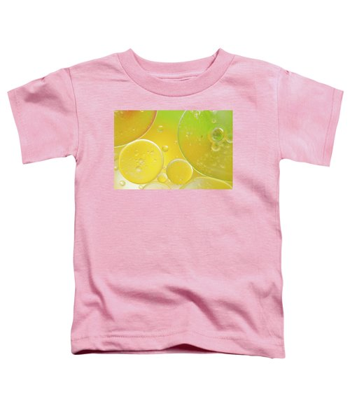 Oil And Water Bubbles  Toddler T-Shirt