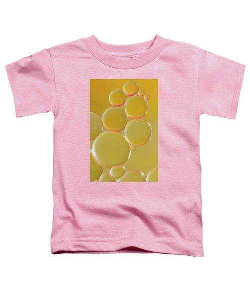 Oil Bubbles On Water Abstract Toddler T-Shirt