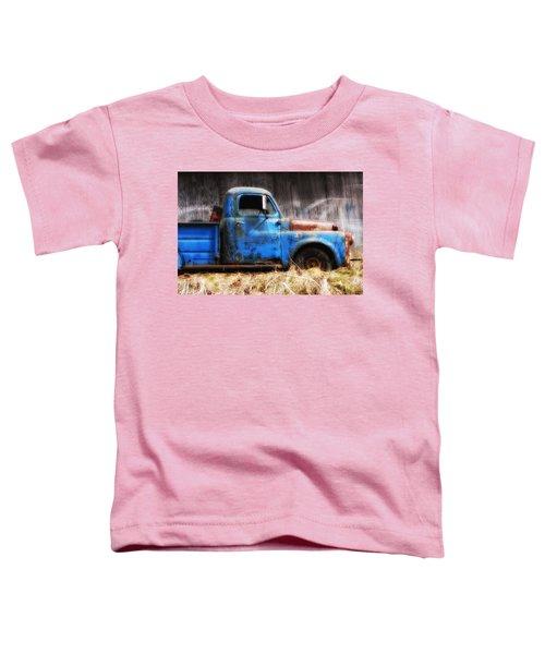 Old Blue Truck Toddler T-Shirt