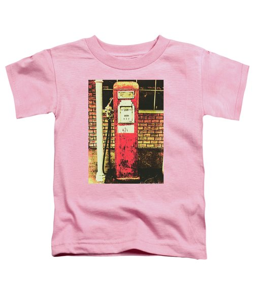 Old Roadhouse Gas Station Toddler T-Shirt