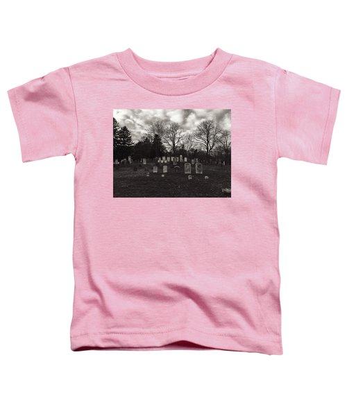 Old Town Cemetery , Sandwich Massachusetts  Toddler T-Shirt