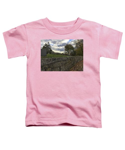 Old Town Cemetery Toddler T-Shirt