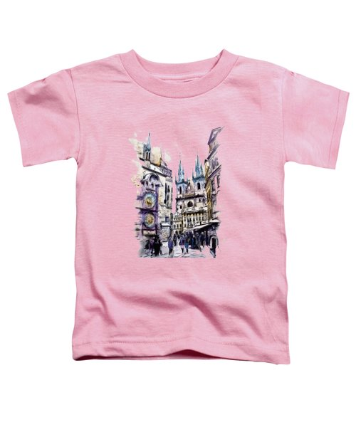 Old Town Square In Prague Toddler T-Shirt