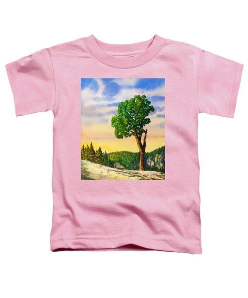 Olmsted Point Tree Toddler T-Shirt