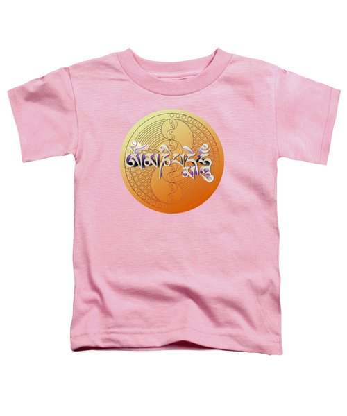 Om Mani Padme Hum Toddler T-Shirt