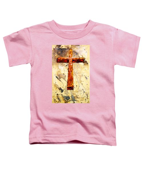 On That Old Rugged Cross Toddler T-Shirt