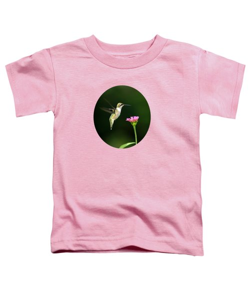 One Hummingbird Toddler T-Shirt by Christina Rollo