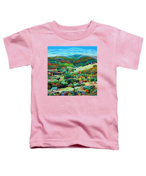 Onset Of The Appalachian Wonderfall Toddler T-Shirt