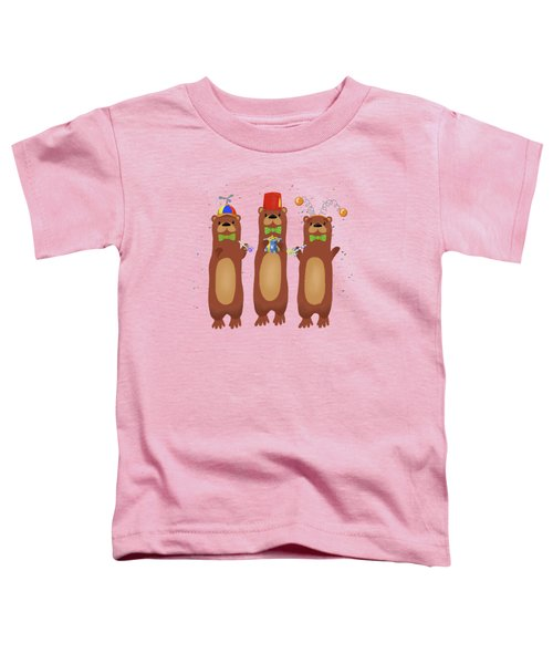 Otter Party And You Are Invited Toddler T-Shirt by Little Bunny Sunshine