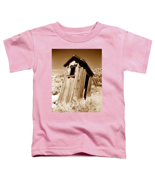 Outhouse At Bodie Toddler T-Shirt