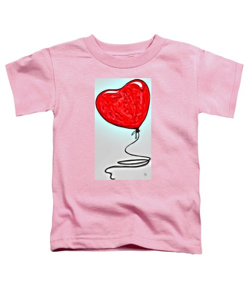 Painted Heart Toddler T-Shirt