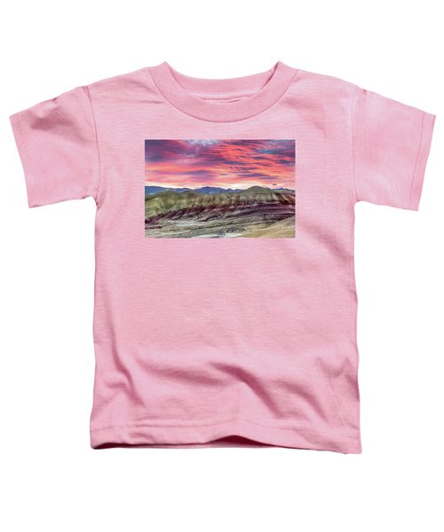 Painted Hills Sunrise Toddler T-Shirt
