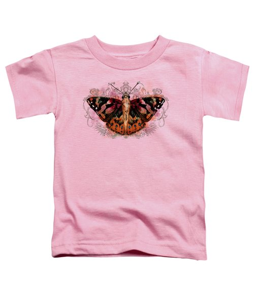 Painted Lady II Toddler T-Shirt