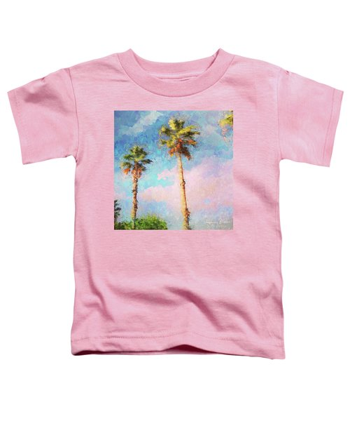 Painted Palms Toddler T-Shirt
