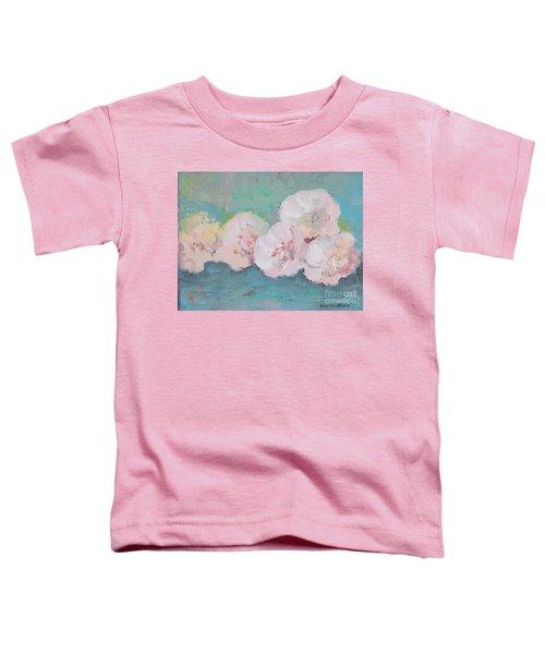 Pale Pink Peonies Toddler T-Shirt