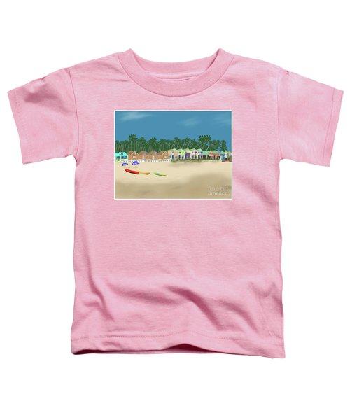 Palolem Beach Goa Toddler T-Shirt
