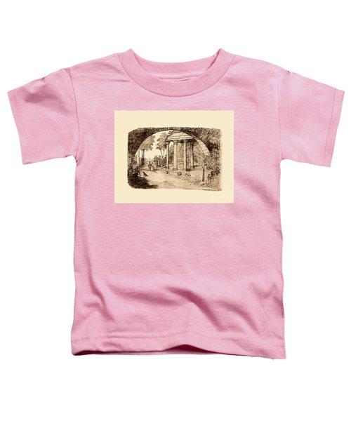 Pan Looking Upon Ruins Toddler T-Shirt