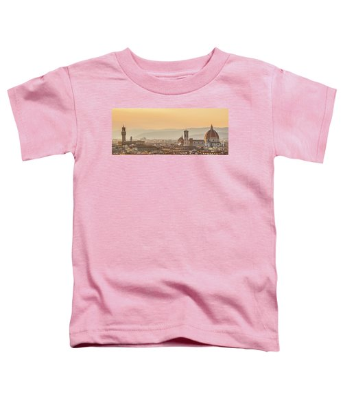 Panorama Of Florence Toddler T-Shirt