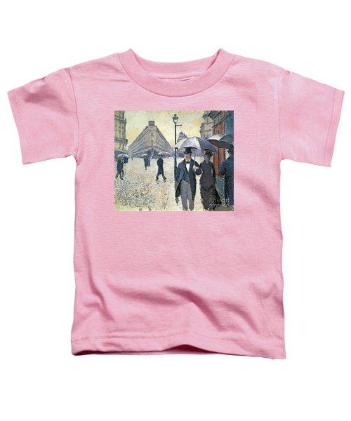 Paris A Rainy Day Toddler T-Shirt