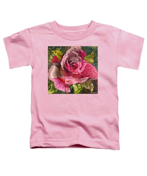 Partitioned Rose IIi Toddler T-Shirt