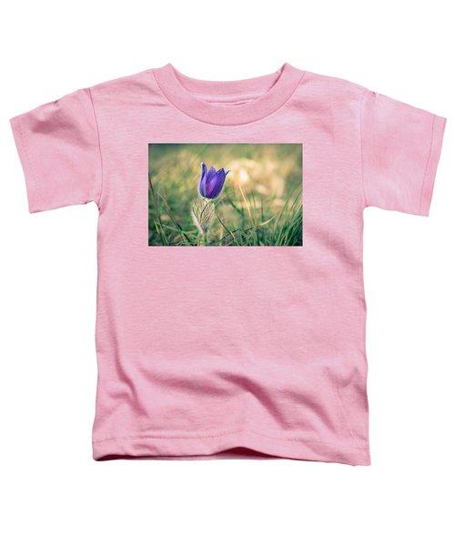 Pasque Flower Toddler T-Shirt