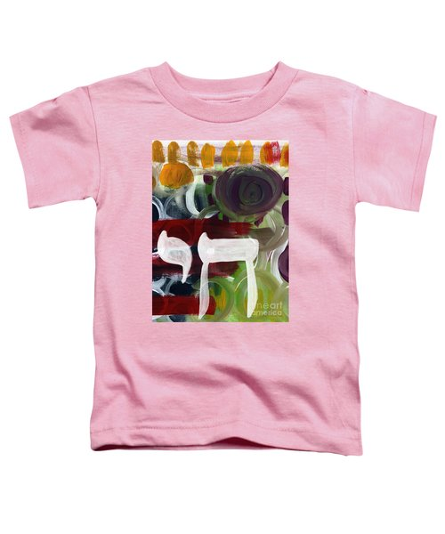 Passages 2- Abstract Art By Linda Woods Toddler T-Shirt