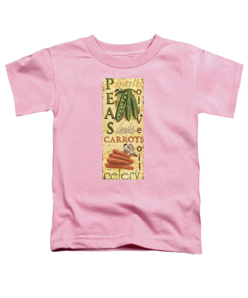 Pea Soup Toddler T-Shirt by Debbie DeWitt