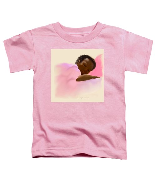 Toddler T-Shirt featuring the digital art Peace by Gerry Morgan