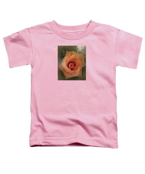 Peach Rose Toddler T-Shirt