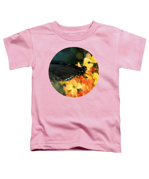 Peachy Toddler T-Shirt by Anita Faye